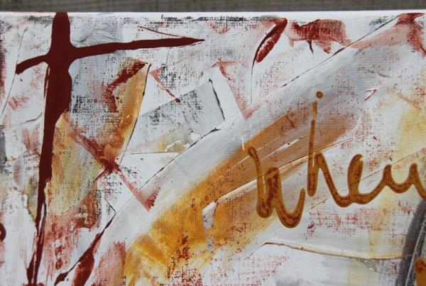 schilderij met tekst detail 2