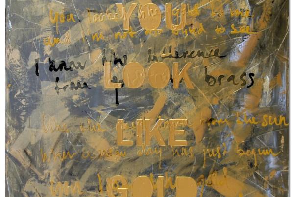 Canvas met tekst