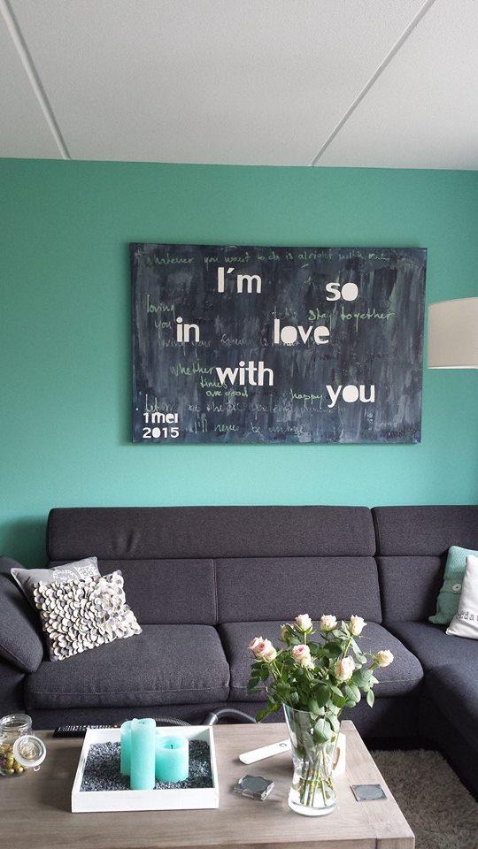 schilderij als huwelijkskado