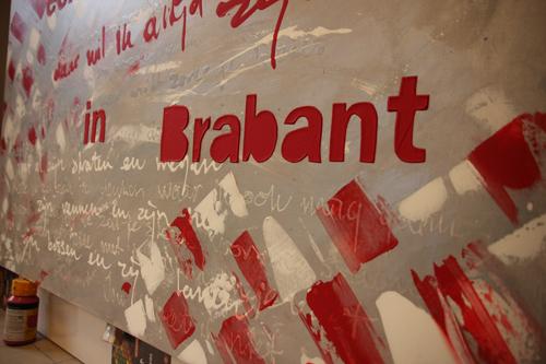 Een dorpje in Brabant Schilderij Heeze