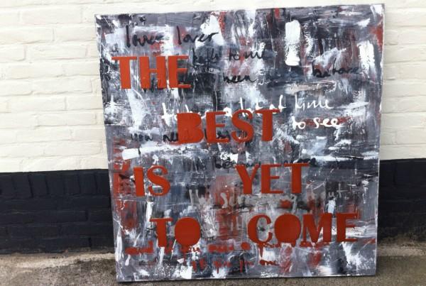 schilderij met tekst laten maken