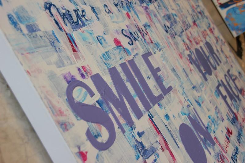Bekend Geliefde Zelf Schilderij Maken Op Canvas @PBU11 - AgnesWaMu #QD35